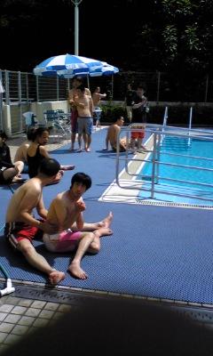 プール開きのサブの写真【1】