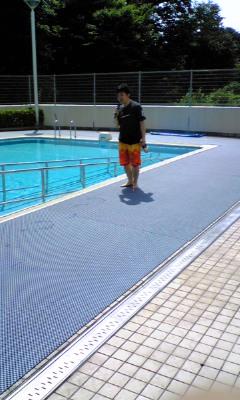 プール開きのサブの写真【2】