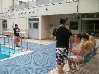 プール開きのサブの写真【3】